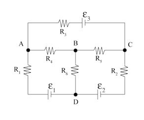 are resistors one directional pictured at right is a circuit consisting of 6 chegg