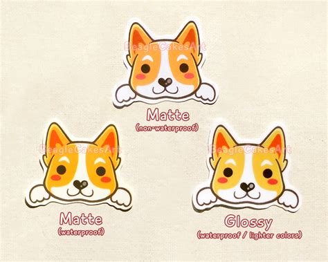 puppy stickers stickers animal sticker kawaii sticker laptop sticker waterproof sticker pet