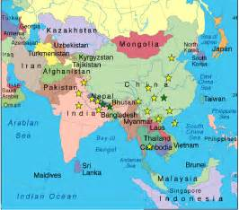 asia map atlas atlas auspicious asian adventures