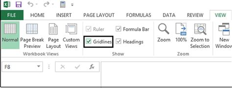 remove page layout lines excel methods to hide gridlines in excel