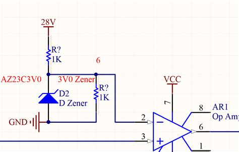 zener diode voltage divider circuit zener diode in comparator electrical engineering stack exchange