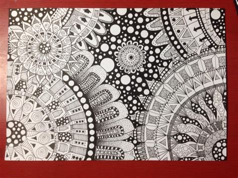 how to draw circle doodle doodle with a circle guide mandala