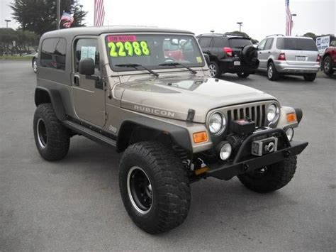 2005 Jeep Wrangler Unlimited For Sale 2005 Jeep Wrangler Unlimited Rubicon For Sale In Marina