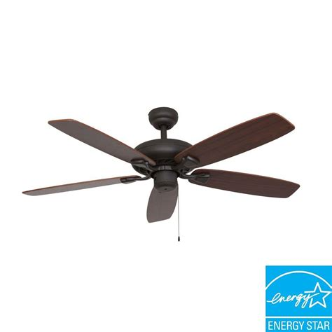best energy star ceiling fans sahara fans charleston 52 in bronze energy star ceiling