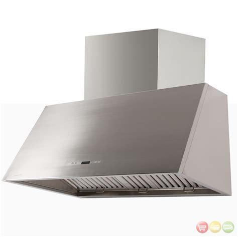 range hoods cavaliere sv218t2 36 stainless steel wall mount range
