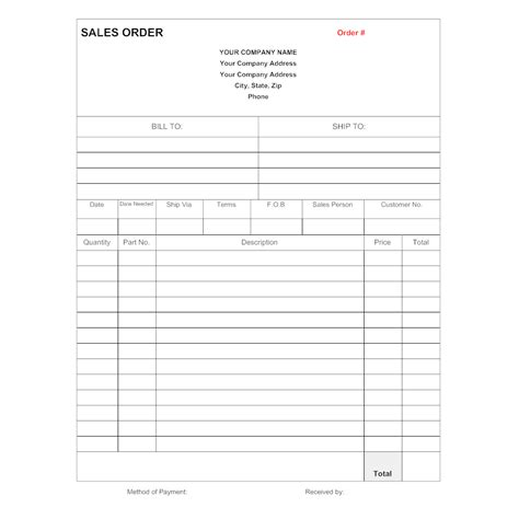 sales order template sales order template 3 sales order template