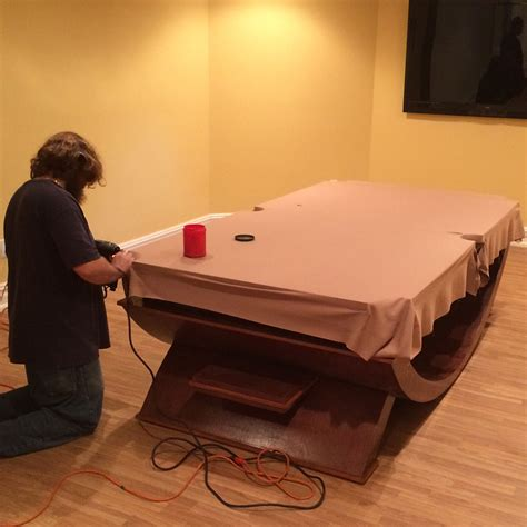 How To Change The Felt On A Pool Table Replace Felt Or Fabric