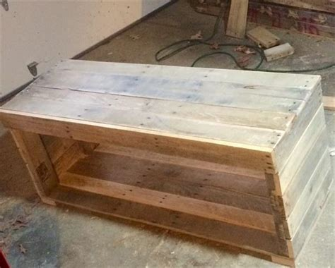 pallet bench plans rustic pallet bench and coffee table pallet furniture plans