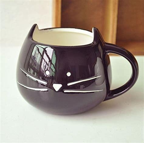 cute coffee cups doyolla lovely cute little black cat coffee milk ceramic