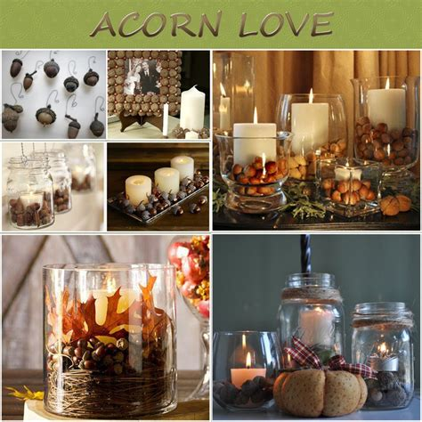fall decorations uk 17 best images about acorn decorations on