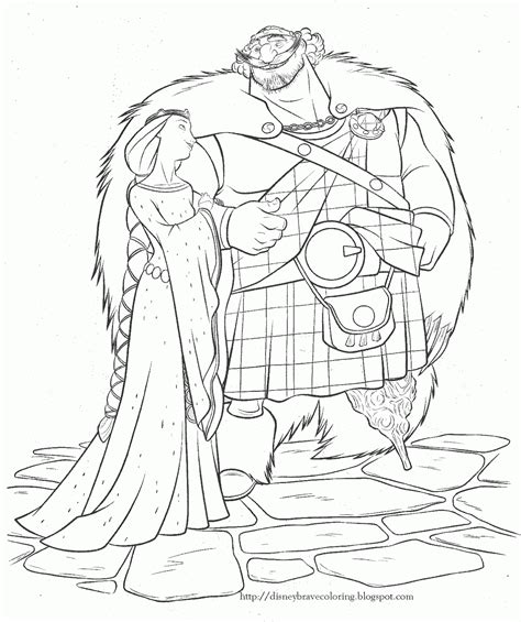 princess merida coloring page princess coloring pages