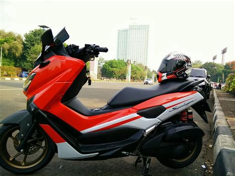 Pcx 2018 Merah Dop by Nmax Superleggera Scooter