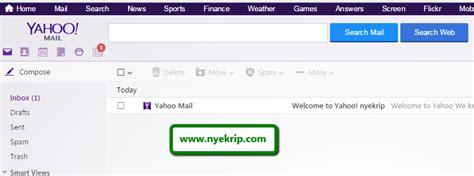 cara membuat email yahoo baru 2015 cara membuat email baru lengkap gambar nyekrip