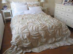 square ruched bedding duvet cover french country by nurdanceyiz