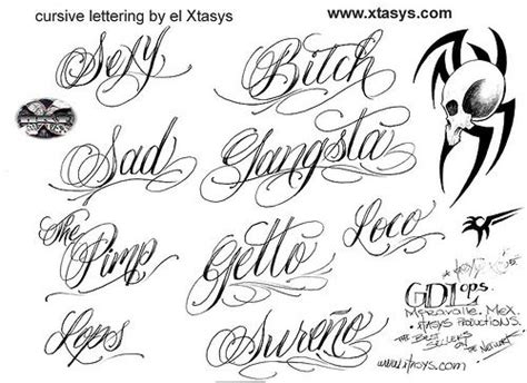 tattoo generator language cool writing letter designs design your own cursive