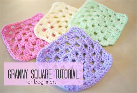 youtube tutorial crochet granny square crochet how to crochet a granny square for beginners