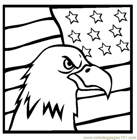 american flag with eagle coloring page eagle flag coloring page free eagle coloring pages