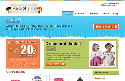themes store free download kidz store wordpress theme free download templatic
