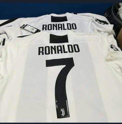ronaldo juventus camiseta circula jersey de la juventus con dorsal de ronaldo