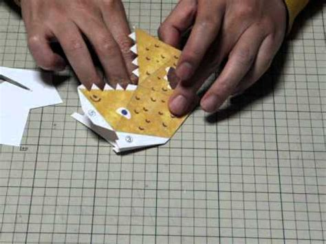 How To Make Paper Snapper - origami origami snapper aditional explanation