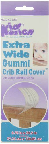 crib rail covers for teething padded crib edge guards