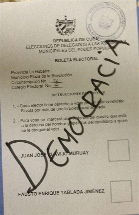 r駸ultats par bureau de vote parodie de d 233 mocratie 224 cuba contrepoints