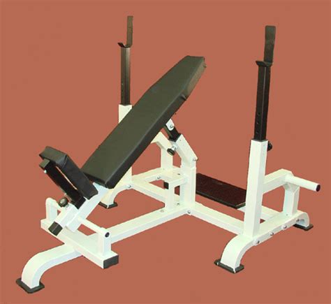 standing incline bench club line titan adj incline bench with spotter stand