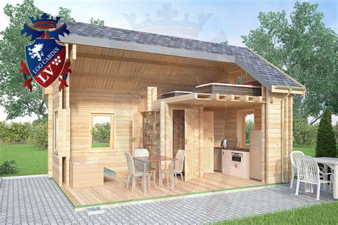 The Log Cabin Company micro log cabin 4m x 5 7m quot cambridgeshire quot cabin