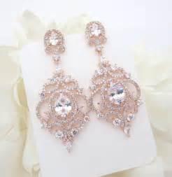 wedding chandelier earrings gold bridal earrings gold chandelier earrings