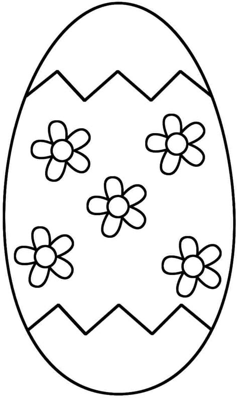 free printable coloring pages easter egg for kids boys