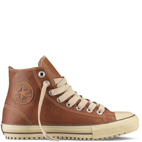 converse boot sneakers converse boot hi top leather in pinecone callen s