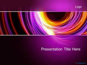 Abstract Powerpoint Templates Free by Free Abstract Purple Ppt Template
