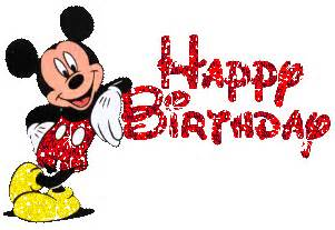 Mickey Mouse Wishing Happy Birthday Happy Birthday From Mickey Mouse Happy Birthday Jamela