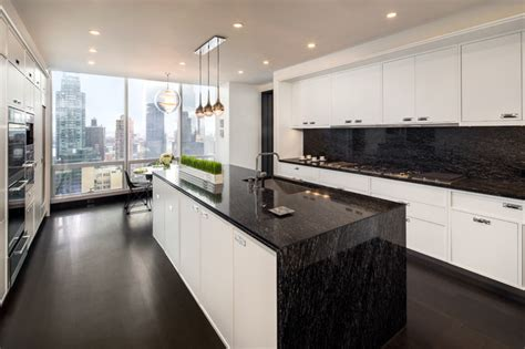 Modern Kitchen Cabinets Nyc One57 New York City Contemporary Kitchen Other Metro By Ciot