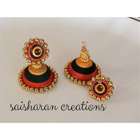 How To Make Quilling Paper Jhumkas - 27 best images about quilled on quilling