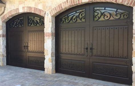 iron garage doors iron ornamental garage doors archives christie overhead door residential commercial garage