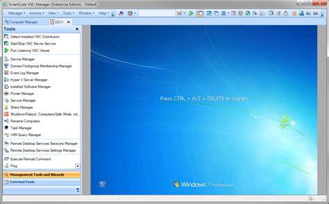 smartcode vnc manager screenshots smartcode solutions