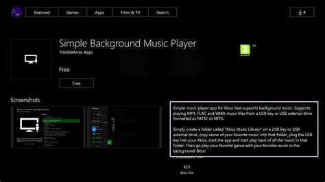 2016 best windows music player simple background music player app for xbox one adds more