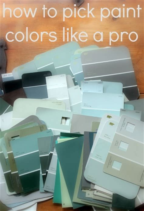 how to select paint colors how to pick paint colors