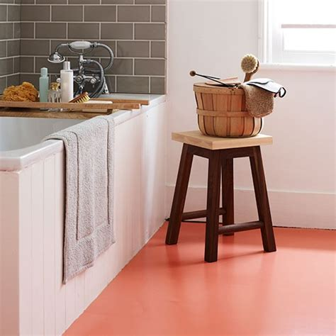 bathroom flooring ideas uk bathroom with orange vinyl flooring contemporary