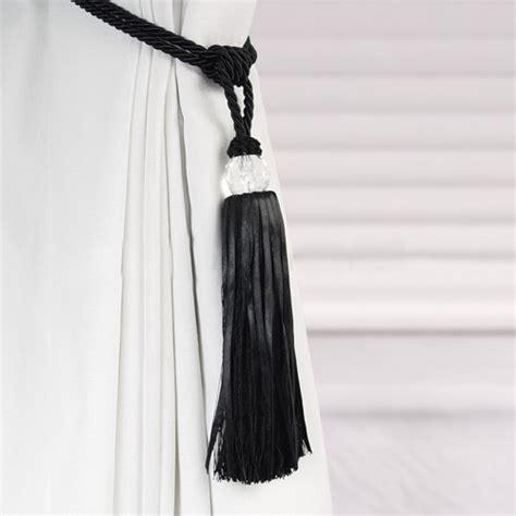 how to tie curtain tassel tiebacks crystal beaded tiebacks tassel curtain tie backs tieback