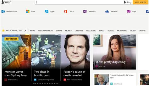 customize msn homepage images