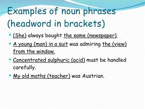nouns phrase ppt1