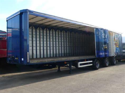 zeil trailer schuifzeilen oplegger met anti diefstal zeilen overige