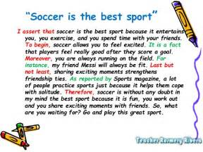 Soccer Essay by Academic Paragraph And Essay Writing Rosmery Bolivia