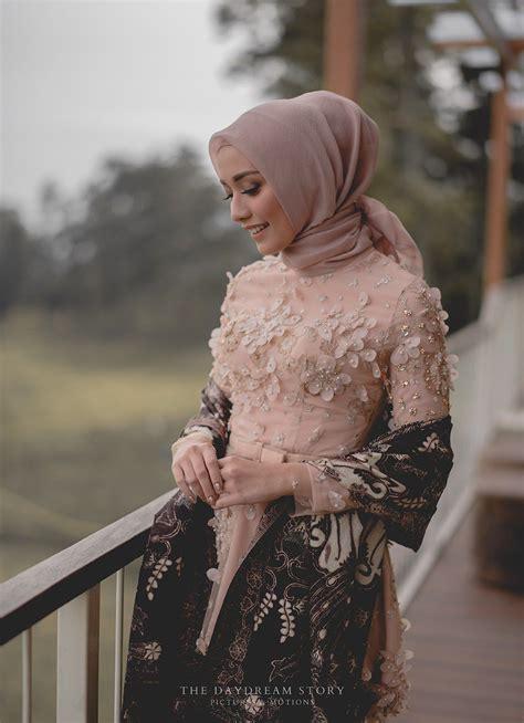Kebaya 3d by Engagement Inspiration 3d Applique Kebaya Modest