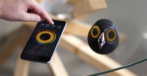 security camera shaped like a bird fubiz media