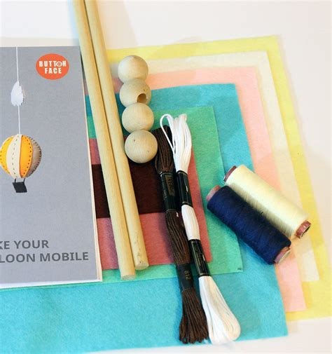 baby mobile kit diy baby mobile kit make your own air balloon by