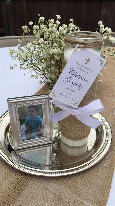 best 25 boy baptism centerpieces ideas on boy