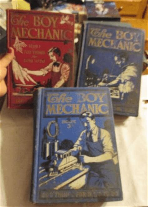 Boy Collection 1 the boy mechanic collection volume 1 2 and 3 1000s of things for boys to do